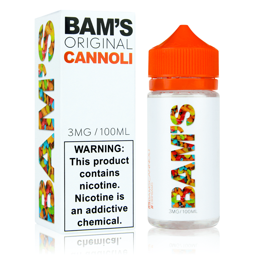 Original Cannoli Ejuice by Bam's Cannoli Review