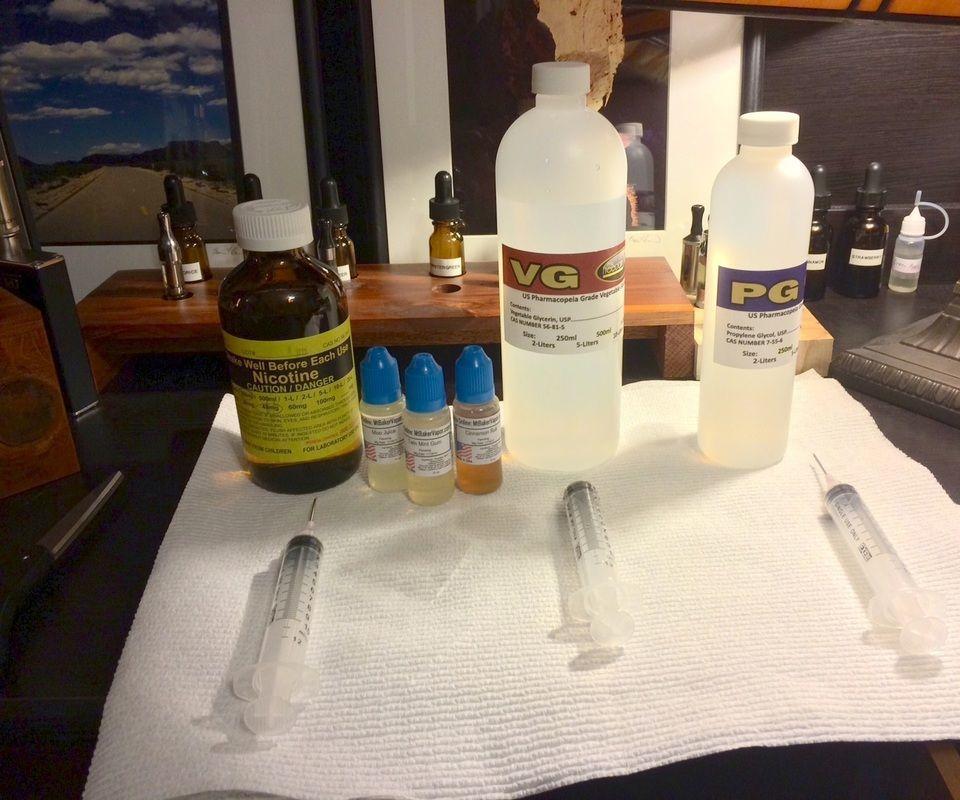 DIY E-Juice Supply